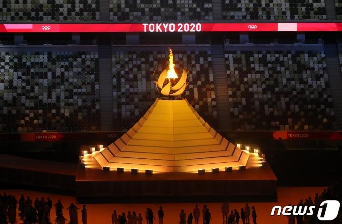 [사진] 도쿄올림픽 '성화 점등'