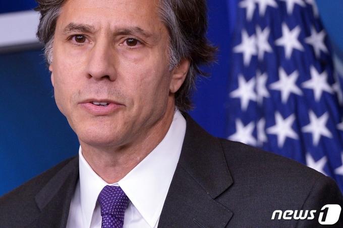 토니 블링컨 미국 국무부 장관. © AFP=뉴스1 자료 사진