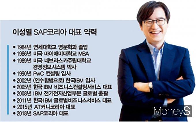 이성열 SAP코리아 대표 약력. /그래픽=김은옥 기자