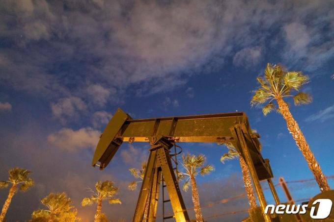 미국 원유시추설비© AFP=뉴스1