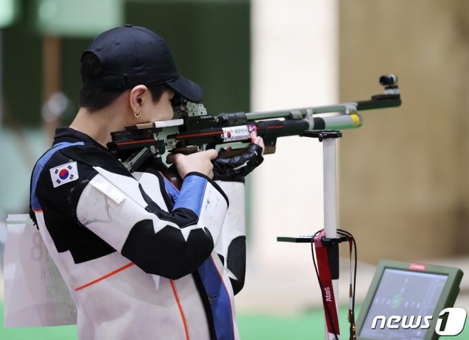[사진] 박희문 '결선 진출'