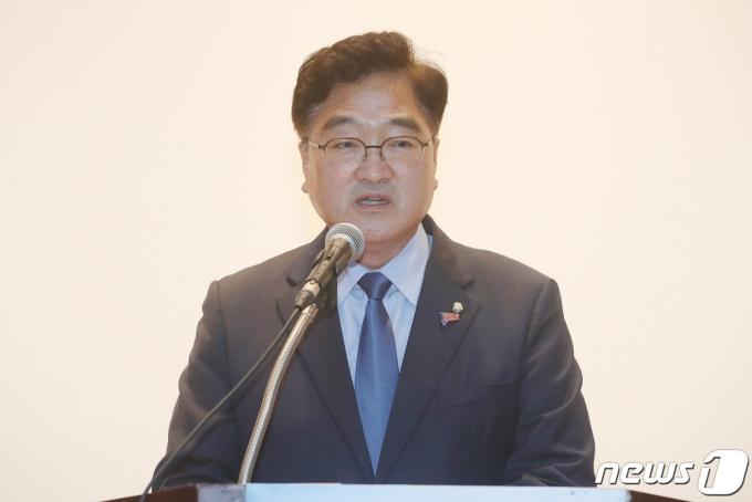 우원식 더불어민주당 의원. © News1 임세영 기자