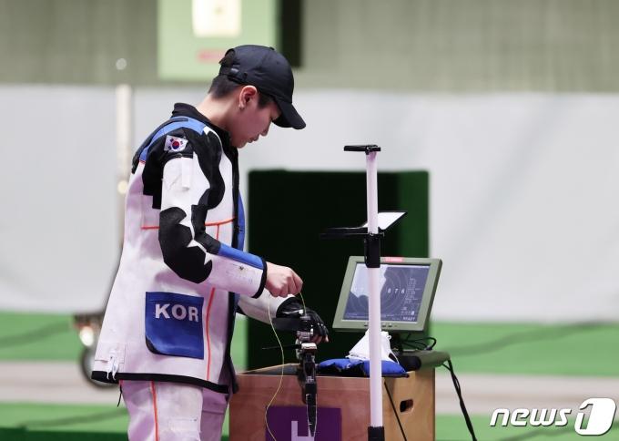 [사진] 박희문 '아쉽지만 여기까지'