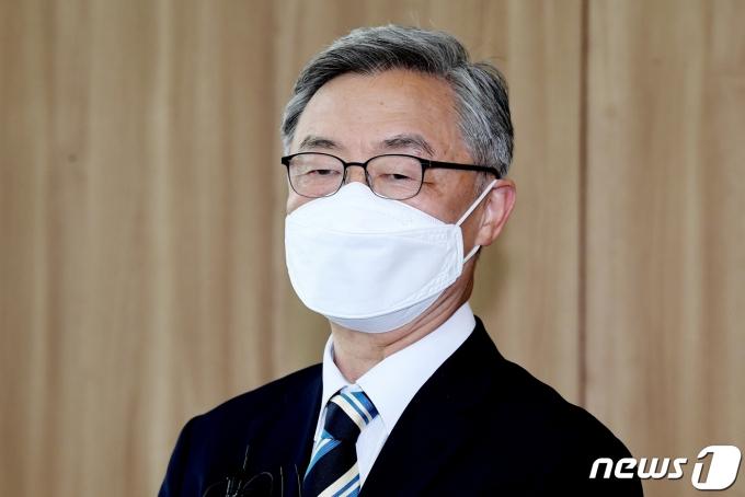 국민의힘 대권 주자인 최재형 전 감사원장. 2021.7.19/뉴스1 © News1 국회사진취재단