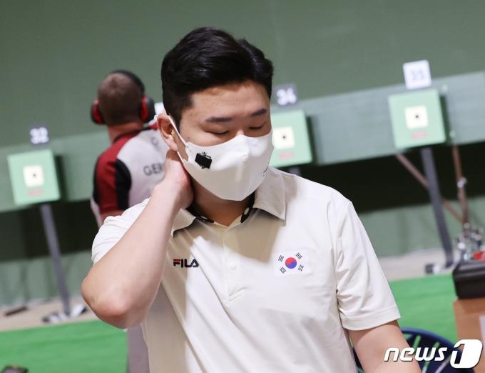 [사진] 진종오 '본선 탈락'