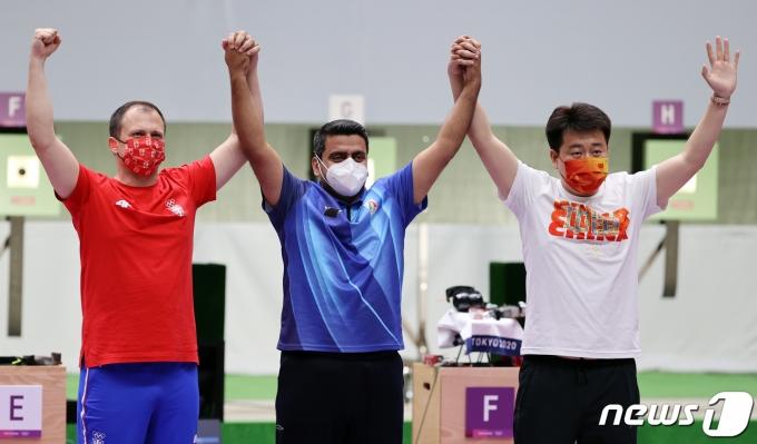 [사진] 이란 자바드 포루기 '금메달 획득'