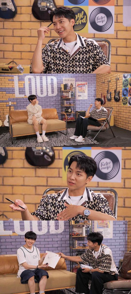 가수 이승기가 SBS 월드와이드 보이그룹 프로젝트 'LOUD:라우드'(이하 '라우드')에 전격 합류한다./사진=SBS 라우드 방송 캡처