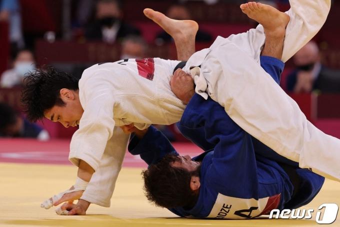 김원진은 2번째 올림픽에서도 메달을 목에 걸지 못했다. © AFP=뉴스1