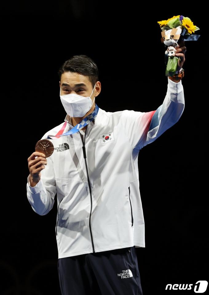 [사진] 김정환 '대한민국의 두번째 메달'