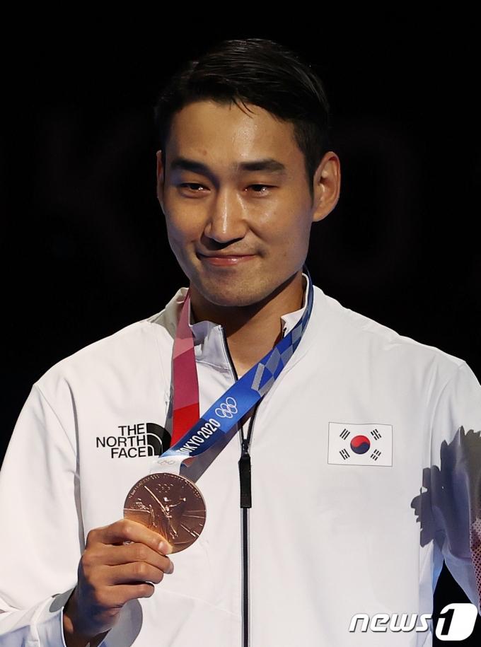 [사진] 김정환 '내가 해냈다'