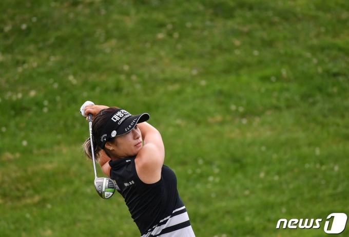 미국여자프로골프(LPGA의 이정은6. © AFP=뉴스1