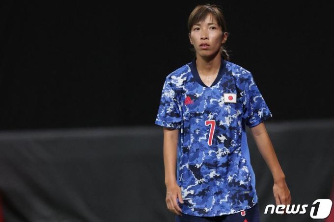 일본 여자축구대표팀은 2020 도쿄 올림픽 조별리그 탈락 위기에 몰렸다. © AFP=뉴스1