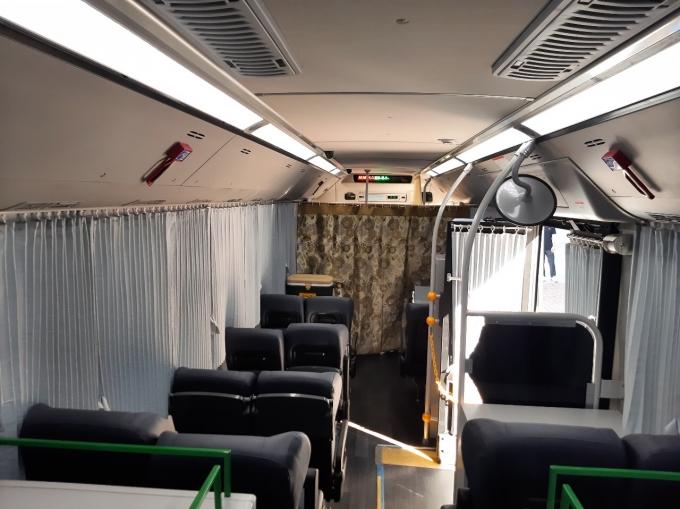 경찰 수소전기버스 내부. (경찰청 제공) © 뉴스1