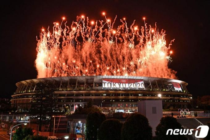 도쿄올림픽 개막식. © AFP=뉴스1