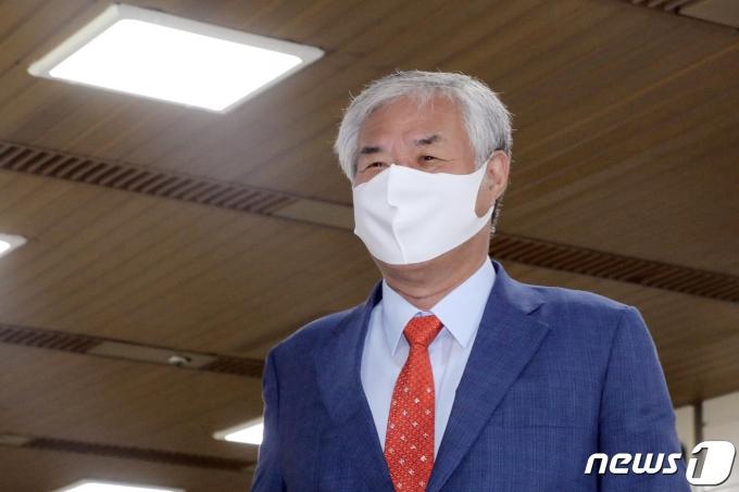 전광훈 사랑제일교회 목사. 2021.6.16/뉴스1 © News1 황기선 기자