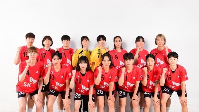 한국 여자 핸드볼 대표팀(대한핸드볼협회 제공)© 뉴스1