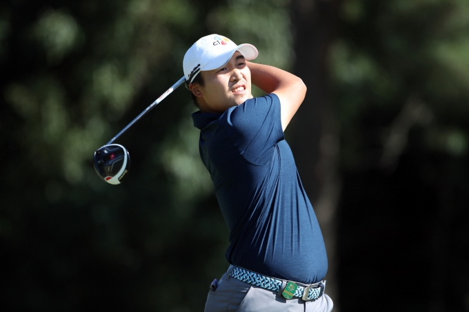 PGA 투어 3M오픈에 출전한 이경훈이 선두와 불과 3타차를 보이고 있어 역전 우승 기대감을 높였다. 사진은 2016년 일본에서 열린 한 대회에 출전한 이경훈의 모습. /사진=뉴시스(휴셈)