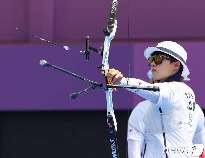 [사진] 양궁 안산 '두번째 금메달을 향해'