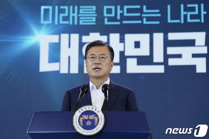 문재인 대통령 (청와대 제공)2021.7.14/뉴스1