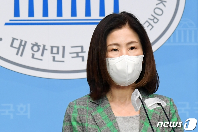 김미애 국민의힘 의원 2021.6.8/뉴스1 © News1 오대일 기자