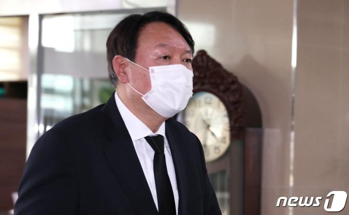윤석열 전 검찰총장. 2021.7.22/뉴스1 © News1 정진욱 기자
