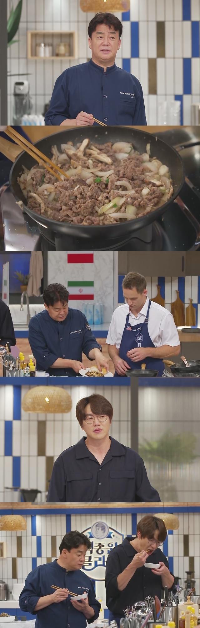 월요일(26일) 방송될 KBS 2TV 예능 프로그램 '백종원 클라쓰'에선 백종원과 외국인 출연진이 불고기를 만든다. /사진=KBS 2TV