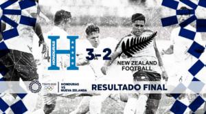 온두라스, 한국 꺾은 뉴질랜드에 3-2 역전승… 올림픽축구 B조, 혼전으로?