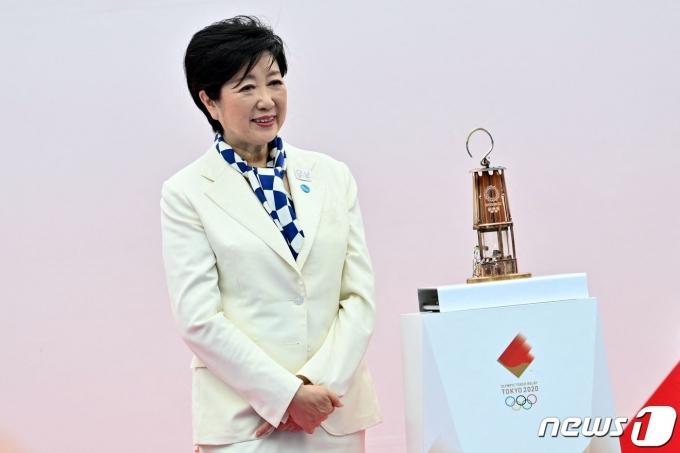 고이케 유리코 도쿄도 지사. © AFP=뉴스1