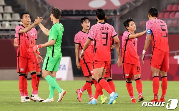 [사진] 대한민국 '4대0의 승리'