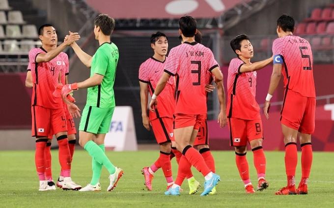 한국이 지난 25일 오후에 열린 루마니아와의 2020도쿄올림픽 B조 조별라운드 2차전에서 4-0으로 대승을 거뒀다. /사진=뉴스1