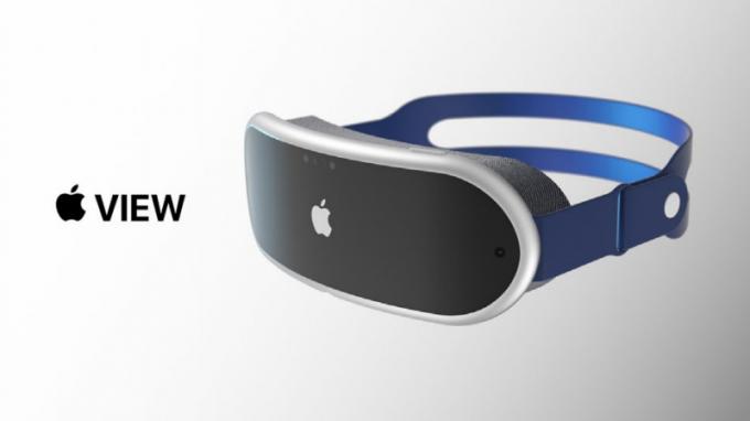 2022년 상반기 출시 예정인 애플의 MR HMD 렌더링 이미지./사진=안토니오 드 로사(Antonio De Rosa), 메리츠증권