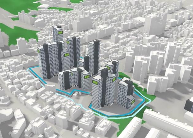서울 중랑구 망우1구역은 서울 내 공공재건축사업 후보지 가운데 최초로 사업시행자 지정 요건을 충족했다. 사진은 망우1구역 조감도. /사진제공=LH