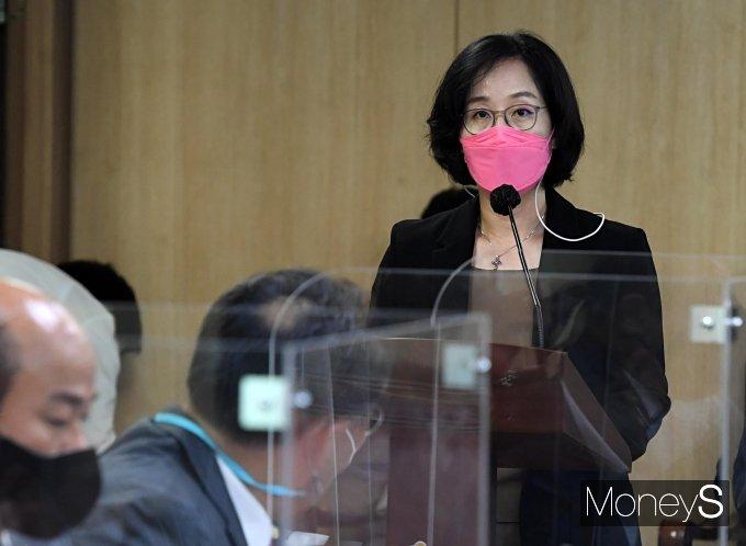 [머니S포토] 발언하는 김현아 서울주택도시공사 사장 후보자