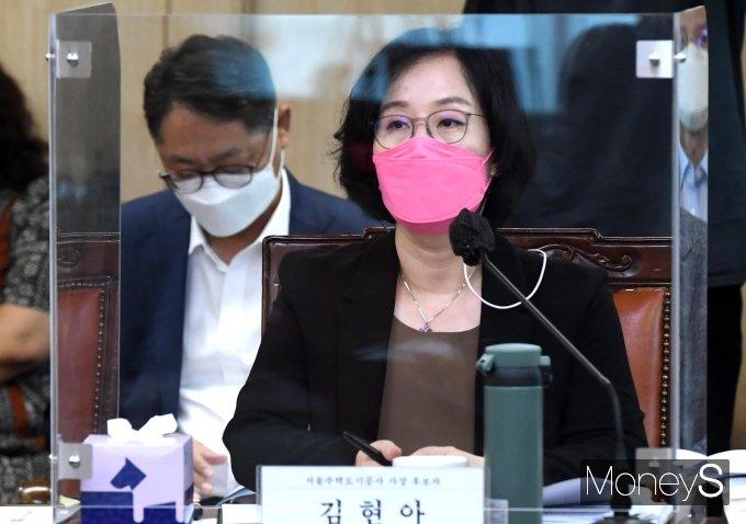 """[머니S포토] 김현아 """"서울시 주거와 도시 문제 해결하겠다"""""""