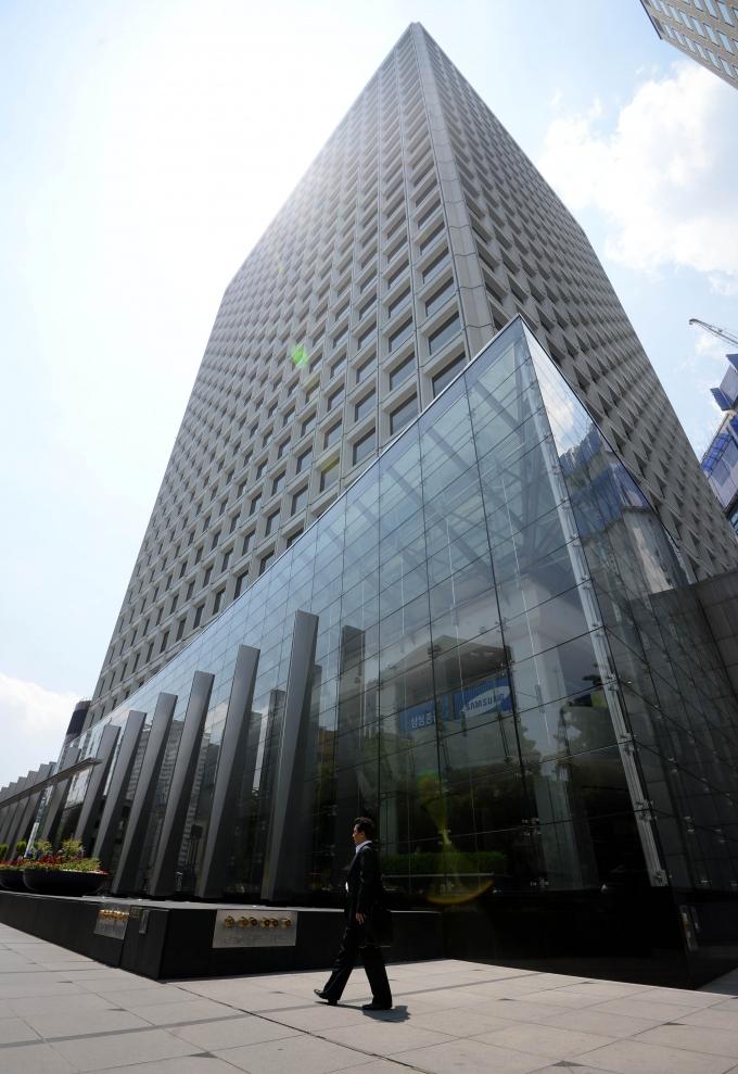 삼성카드가 입주한 서울 태평로 삼성 본관 사옥./사진=뉴시스