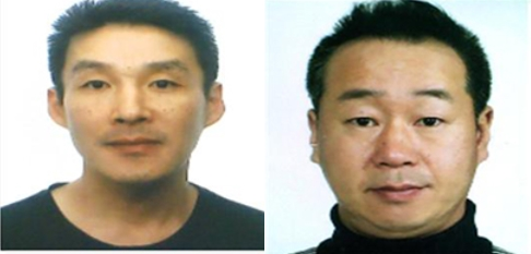 제주에서 옛 연인의 중학생 아들을 살해한 혐의를 받고 있는 백광석(사진 왼쪽)과 김시남(오른쪽)이 채권·채무 관계인 것으로 확인됐다. /사진=제주경찰청 제공