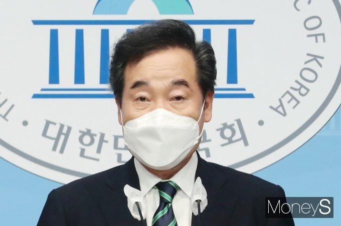 """[머니S포토] 이낙연 """"중산층 살고싶어 하는 품질 높은 공공주택 공급"""""""