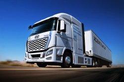 현대 수소전기트럭, 美 캘리포니아 달린다… 330억원 지원금도 확보