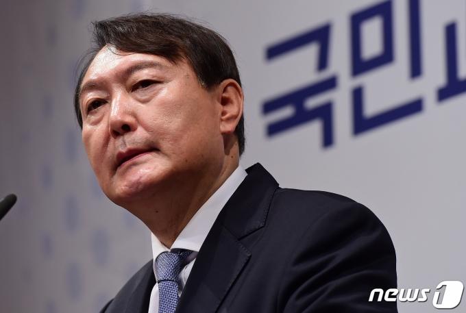 윤석열 전 검찰총장. 2021.6.29/뉴스1 © News1 구윤성 기자