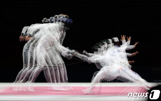 [사진] 송세라 '재빠른 공격'