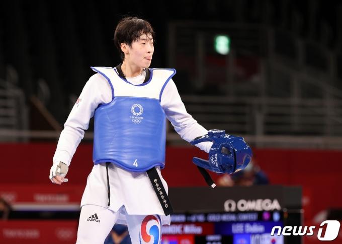 [사진] 이다빈 '아쉬운 은메달... 대한민국 노골드로 마무리'
