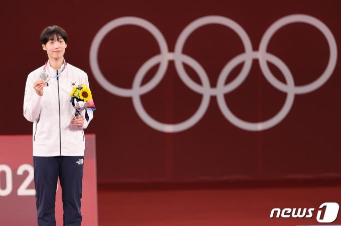 [사진] 이다빈 '값진 은메달 목에 걸고'