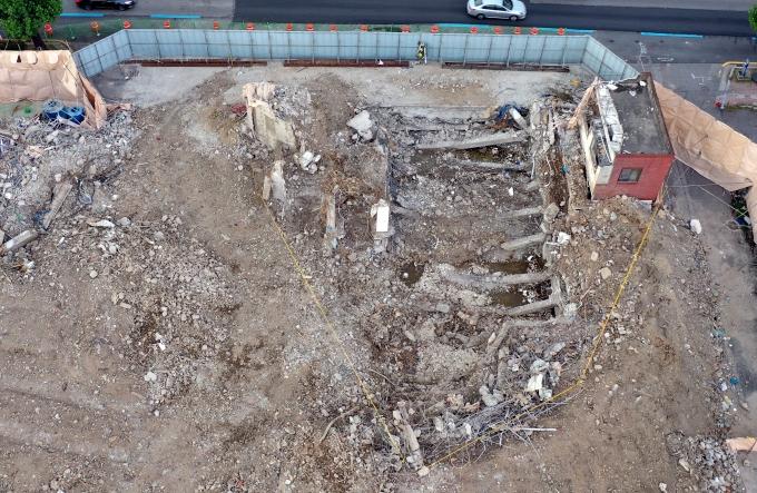 총 17명의 사상자를 낸 광주 학동 재개발현장 건물 붕괴 원인이 드러났다. 사진은 사고 현장 모습. /사진=뉴시스