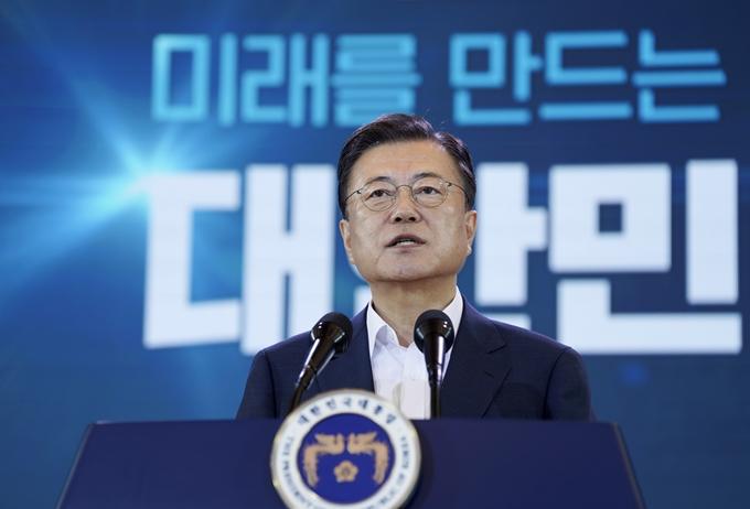 """청와대 """"남·북 정상회담 추진 외신 보도 사실무근"""""""
