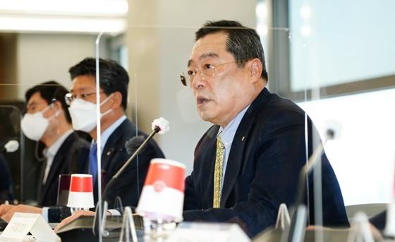 구자열 한국무역협회 회장이 무역업계의 디지털 전환을 지원하기 위한 사업을 추진한다. /사진=무협