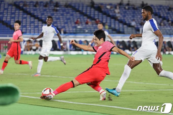 [사진] 이강인 '포기는 없다'