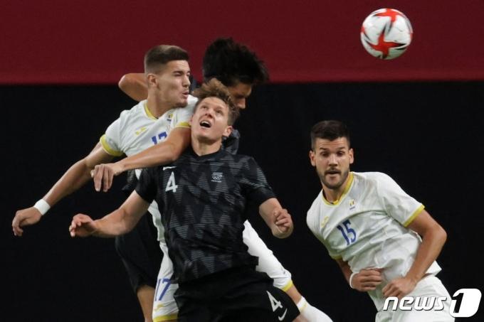 뉴질랜드와 루마니아의 경기 © AFP=뉴스1