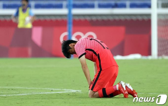 [사진] 김진야 '승리에 감사를'