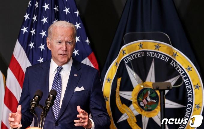 조 바이든 미국 대통령. © 로이터=뉴스1 © News1 정윤영 기자