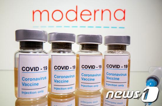 모더나 코로나19 백신. © 로이터=뉴스1